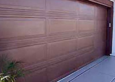 Same door sealed with ONE COAT™